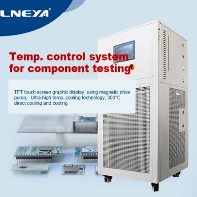 Destructive application effect of components in chip temperature measuring device
