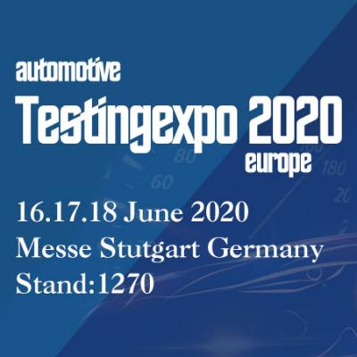 16. - 18. June 2020 | The Automotive Testing Expo Europe-LNEYA