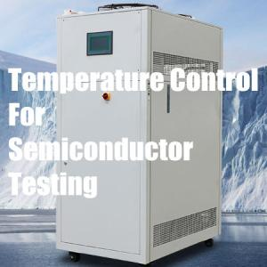 Changes in temperature control methods during semiconductor testing