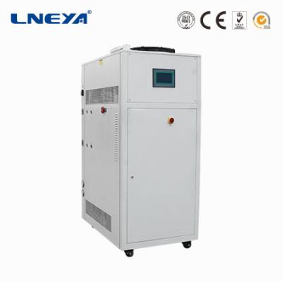 What are the functions of the chip production high and low temperature aging test chamber?