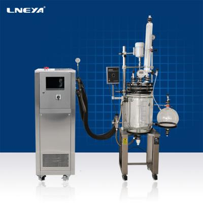 Miniature high-pressure reaction kettle refrigeration heating temperature control system
