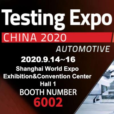 Meet at booth 6002 of Shanghai World Expo Hall【Testing Expo】9.14-9.16