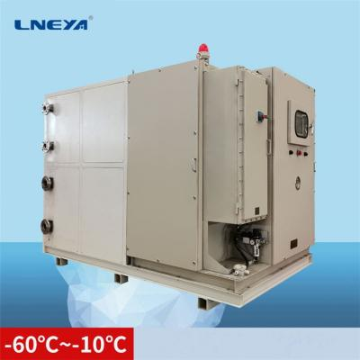 Commissioning of circulating water chiller equipment for chemical enterprises